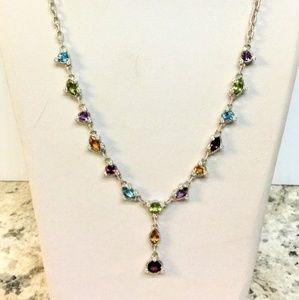 Ripka Sterling Gemstone Necklace